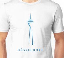 Düsseldorf Rheinturm (Fernsehturm) Simple Unisex T-Shirt