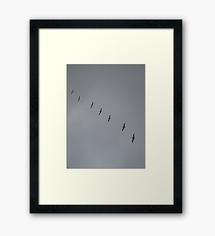 FORMATIONS Framed Print