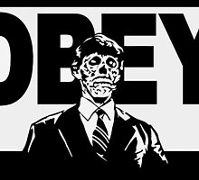 OBEY Zombie by Don Pietro
