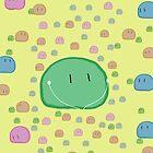 Clannad - Green Dango IPod Case by Kyrannyx