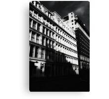 gotham city shadows Canvas Print