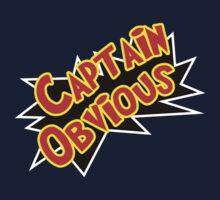 Captain Obvious! Kids Tee