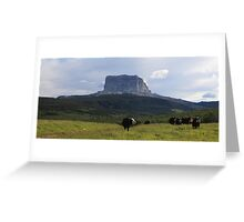 Chief Mountain Greeting Card