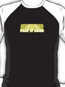 Play It Loud Yellow T-Shirt