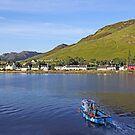 Sailing Back to Dornie Village by David Alexander Elder