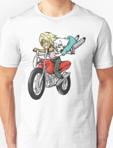 Marik and Bakura Motorcycle Ride T-Shirt