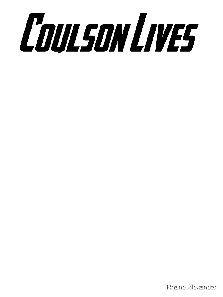 Coulson Lives by rhaneysaurus
