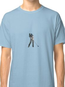 Tiger Woods Fragmented Glass T-Shirt Design  Classic T-Shirt