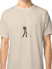 Tiger Woods Fragmented Glass T-Shirt Design  Classic T-Shirt