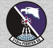 510th Fighter Squadron - US Air Force Baby Tee