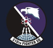 510th Fighter Squadron - US Air Force One Piece - Long Sleeve