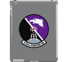 510th Fighter Squadron - US Air Force iPad Case/Skin