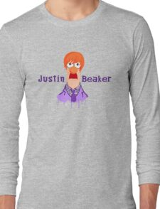 Meeper Fever. (Purple) Long Sleeve T-Shirt