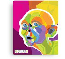 Gollum Pop Art Canvas Print
