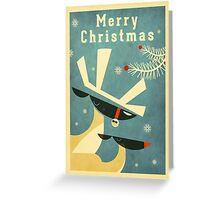 Reindeer 4 Greeting Card