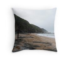"The dramatic ""Wreck Beach"" Great Otway N.P. Throw Pillow"