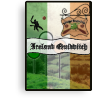 Ireland Quidditch Canvas Print