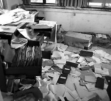 Abandoned Office Life by MonsterRot