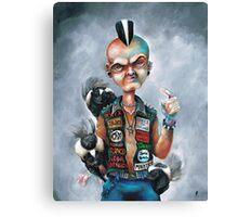 Skunk Punk Canvas Print