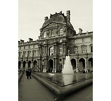 A postcard from Paris Photographic Print