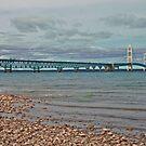 Mackinac Bridge HDR by bradydhebert