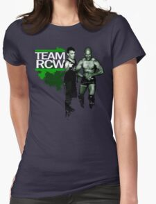 "TEAM RCW ""Fight the Power"" Benchwarmers Womens Fitted T-Shirt"