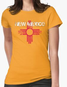 Vintage New Mexico Womens Fitted T-Shirt