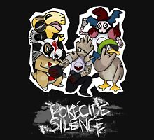 Pokecide Silence Men's Baseball ¾ T-Shirt