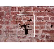 Bullet marks inside the Jallianwala Bagh Photographic Print