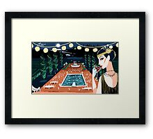A Great Gatsby Party Framed Print