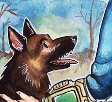 Fallout: Dog by silk-sutures