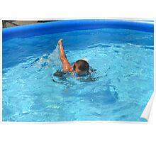 Refreshing Swim Poster