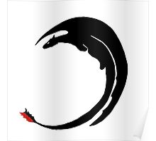Dragon-Shadow Poster