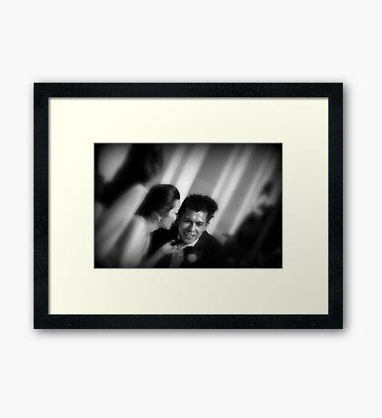 wait till I get you home Framed Print