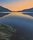 Loch Lomond Sunset by David Alexander Elder
