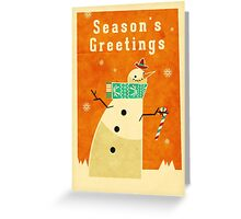 Snowman 1 Greeting Card