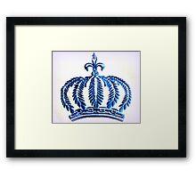 Royal Blue Framed Print