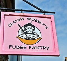 Granny Wobbly's Fudge Pantry ~ Tintagel by Susie Peek