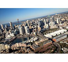 Darling Harbour, a flight Photographic Print