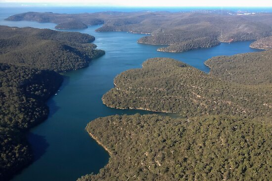 Hawkesbury River by Daniel Rankmore