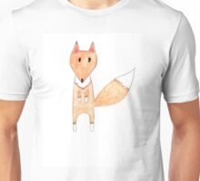 fox watercolor pencils Unisex T-Shirt
