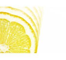 Slices of Citrus Photographic Print