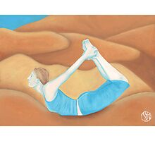 Yoga Bow Photographic Print