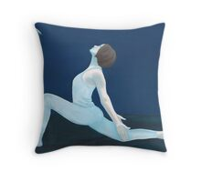 Yoga Moon Throw Pillow