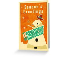 Snowman 2 Greeting Card