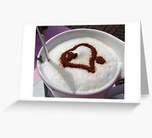 Coffee Love Greeting Card