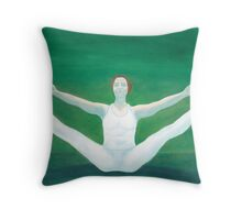 Yoga Opening Throw Pillow