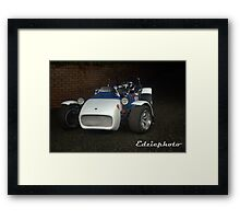 Locost Racing Teams' Weapon Of Choice Framed Print
