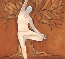 Yoga Tree by Ria  Rademeyer