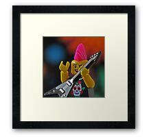 LEGO(R) Rocks!!! Framed Print